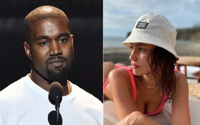 Kanye West údajně randí s Irinou Shayk. Na narozeniny si s ní užíval ve Francii, zatímco mu Kim Kardashian veřejně gratulovala