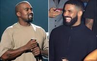 Kanye West venoval Drakeovi 150 tweetov. Chce ospravedlnenie, dostal výsmech pred celým svetom
