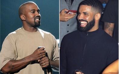 Kanye West věnoval Drakeovi 150 tweetů. Chce omluvu, místo toho sklidil výsměch před celým světem