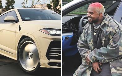 Kanye West vlastní azda najškaredšie Lamborghini Urus na svete