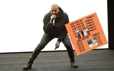 Kanye West vydal nový album The Life of Pablo, na ktorom hosťujú The Weeknd, Kid Cudi či Kendrick