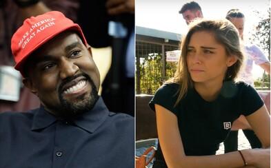 Kanye West vyvádzal v Bielom dome