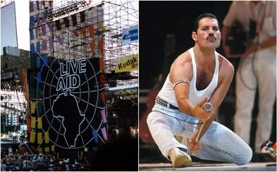 Kapela Queen sa na Live Aid stala nesmrteľnou legendou, ktorá sa zapísala do análov rockovej hudby