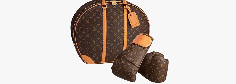 Karl Lagerfeld a jeho špeciálny Louis Vuitton Monogram boxovací mech za 138 000€