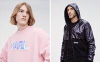 Karl Lagerfeld představuje novou kolekci pro muže. Je inspirovaná 80. léty a kombinuje ekologické materiály
