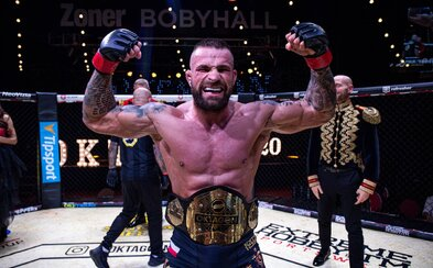 Karlos Vémola prichádza o pás šampióna organizácie Oktagon MMA. Súboj s Ďatelinkom ale prebehne