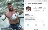 Karlos Vémola přišel o účet na Instagramu. Někdo mu smazal všechny fotky i videa