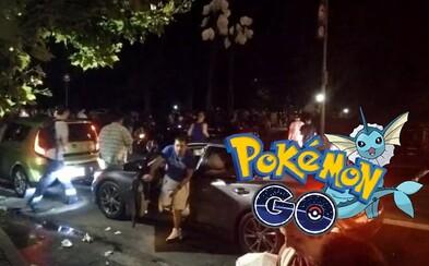 Kašľať na auto a ostatných ľudí, keď sa neďaleko zjavil Vaporeon. Vzácny Pokémon spôsobil v New Yorku davové šialenstvo