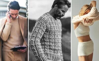 Kašmírový sveter, nadčasový kúsok oblečenia, s ktorým nespravíš krok vedľa