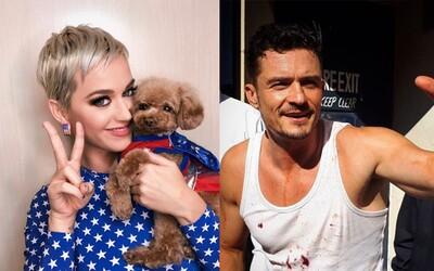 Katy Perry a Orlando Bloom sa na Valentína zasnúbili