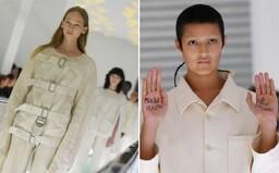 Kazajka ako móda od Gucciho? Oblečenie odkazujúce na duševné ťažkosti je nevhodné, protestuje modelka