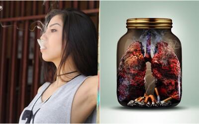 Každé 4 sekundy zemře na následky kouření jeden člověk
