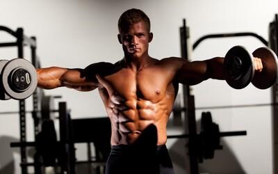 Každý chce vymakaná ramena, ale málokdo dělá upažování technicky správně. Podívej se na tipy a 5 častých chyb