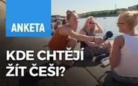 Kde bys chtěl žít, kdybys nežil v Praze? Lidé z pražské Náplavky sní o Ibize, USA, ale i Brně (Video)