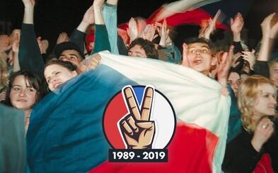 Kde oslavit 17. listopad? Přinášíme přehled, kde všude v Česku oslavit 30 let svobody