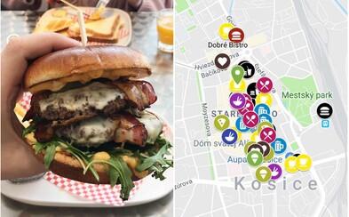 Kde si dáš v Košiciach najlepšiu pizzu, burger, koláč alebo vegánske jedlo a kam ísť na pivo? Prezradí ti táto gastromapa