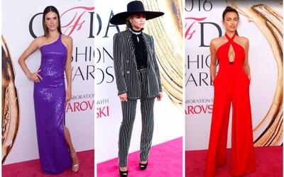 Kdo získal módní cenu CFDA a v jakých róbách se celebrity ukázaly?
