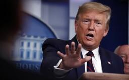 Kdyby v USA zemřelo 200 tisíc lidí na koronavirus, odvedli bychom velmi dobrou práci, řekl prezident Donald Trump