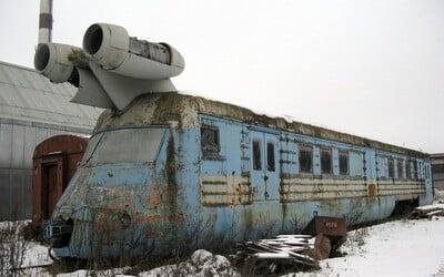 Kdysi atakoval rychlost 260 km/h a byl závanem budoucnosit. Ruský proudový vlak na tratích nikdy neuspěl