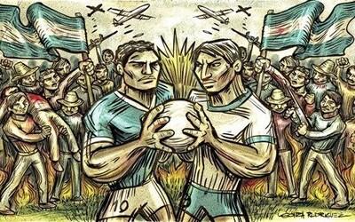 Když fotbal nastartoval reálnou válku. Zápas mezi Salvadorem a Hondurasem měl velmi krvavou dohru