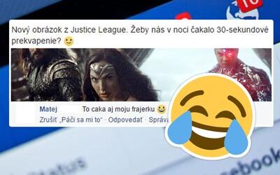 Když je komentář lepší než příspěvek. Vtipné poznámky z Facebooku nenechávají Čechy a Slováky chladnými