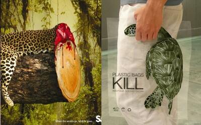 Když mizí lesy, mizí i zvířata. Trefné reklamy poukazují na to, jak se chováme nejen k přírodě, ale i jeden k druhému