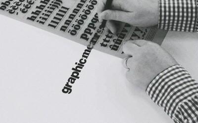 Když nebyly počítače, grafický design byl opravdu složitou a precizní prací. Takto nějak to vypadalo