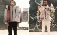 Když nemůžeš jít do města, obleč si ho. Virgil Abloh spojil módu a architekturu v nejnovější kolekci pro Louis Vuitton