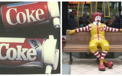 Když se Coca Cola lekla Pepsi a McDonald's cílil na vyšší vrstvy. Toto jsou největší marketingové faily ikonických značek