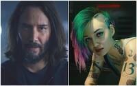 Keanu Reeves a Billie Eilish lákají na vydání Cyberpunk 2077. Očekávaná sci-fi hra od tvůrců Zaklínače vyjde již za měsíc