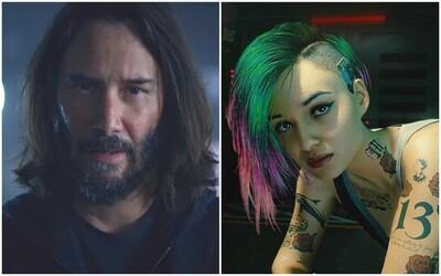 Keanu Reeves a Billie Eilish lákajú na vydanie Cyberpunk 2077. Očakávaná sci-fi hra od tvorcov Zaklínača vyjde už o mesiac