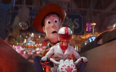 Keanu Reeves je Duke Caboom. Vo vtipnom traileri pre Toy Story 4 ožíva ako hračka-kaskadér