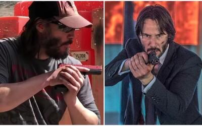Keanu Reeves kvůli přípravě na Johna Wicka 3 podstoupil trénink s bývalým agentem CIA