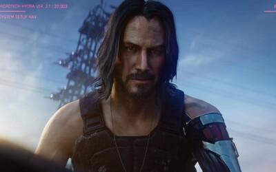 Keanu Reeves se objeví v Cyberpunku 2077! Hvězdný herec oznámil datum vydání a ukázal se v novém traileru
