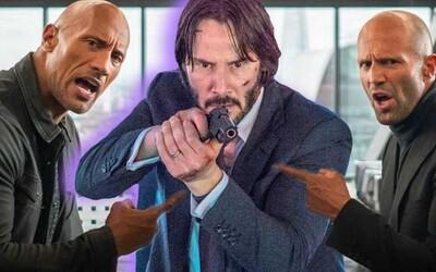 Keanu Reeves si měl zahrát v Hobbs & Shaw. O jakou postavu by mohlo jít a uvidíme ho v případné dvojce?