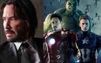 Keanu Reeves si možno zahrá v superhrdinskom filme od tvorcov Avengers