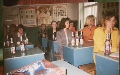 Keď bola v Rusku kríza, učiteľov vyplácali fľašami vodky. Mohli prijať alkohol, alebo by odchádzali s prázdnymi rukami