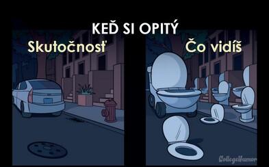 Když člověk musí na toaletu, svět se mění. Poznáš se v zábavných přirovnáních?