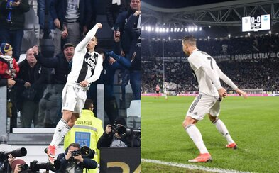 "Když Cristiano Ronaldo skóroval, celý stadion Juventusu s ním sborově zakřičel: ""SIUUUUU"""