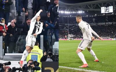 Keď Cristiano Ronaldo skóroval, celý štadión Juventusu s ním zborovo zakričal SIUUUUU