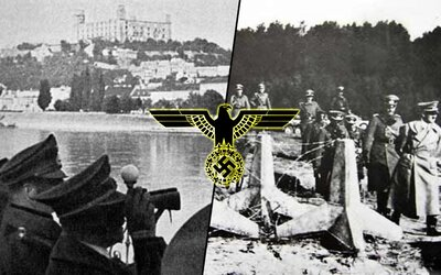 Keď Hitler jedinýkrát navštívil Slovensko. Obával sa nášho opevnenia, preto si ho radšej prišiel pozrieť osobne