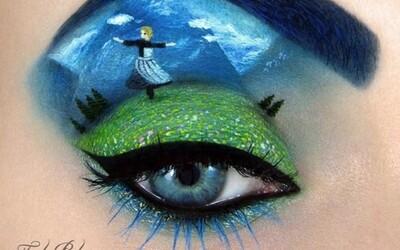Keď je make-up umením...