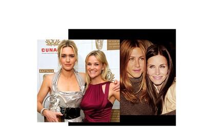 Keď majú k sebe herečky blízko alebo najväčšie ženské priateľstvá Hollywoodu