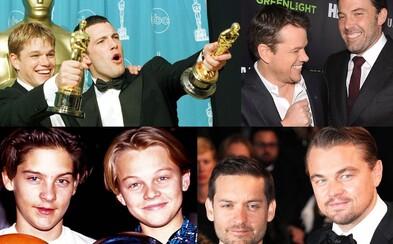 Keď sú herci viac ako kolegovia alebo najväčšie mužské priateľstvá Hollywoodu