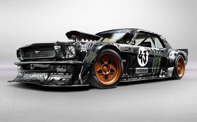 Ken Block ukázal na SEMA Show 2014 svoj brutálny 845-koňový Mustang!