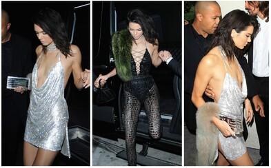 Kendall Jenner oslavila 21. narozeniny v perfektních party outfitech