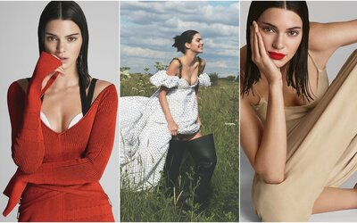Kendall Jenner ovládla stránky Vogue a ukázala samu sebe z různých úhlů pohledu
