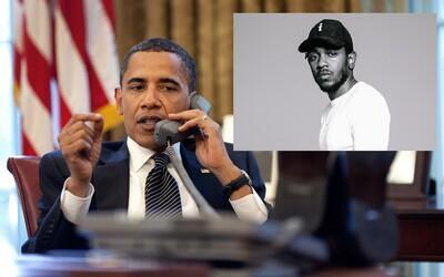 Kendrick Lamar dostal aj Baracka Obamu. Skladbou roku 2015 je podľa neho práve song od obľubeného rapera