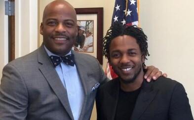 Kendrick Lamar dostal za svoji tvorbu a pomoc komunitě ocenění od kalifornského senátu