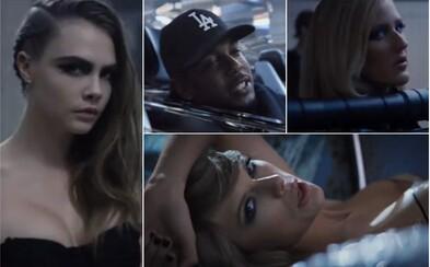 Kendrick Lamar se připojil k Taylor Swift v naprosto hvězdném videoklipu. Přidal navíc dvě nové sloky